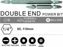 DOUBLE END POWER BIT
