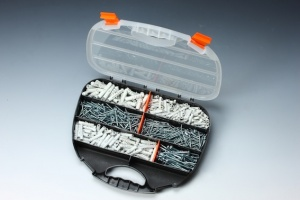 600 PCS  CHIPBOARD SCREW & PLUG ASSORTMENT