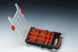 1,100 PCS CHIPBOARD SCREW ASSORTMENT