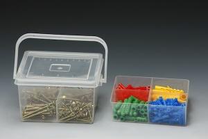 300 PCS CHIPBOARD SCREW & PLUG ASSORTMENT