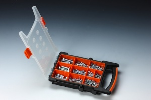 405 PCS HEX BOLT, HEX NUT & WASHER ASSORTMENT