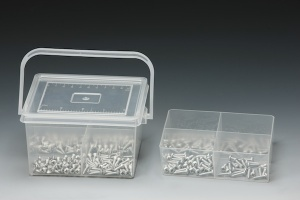 320 PCS STAINLESS TAPPING SCREW ASSORTMENT