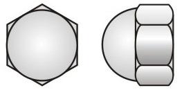 DIN 1587 Hex Domed Cap Nut