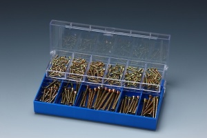 250 PCS CHIPBOARD SCREW ASSORTMENT