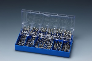 160 PCS STAINLESS CHIPBOARD SCREW ASSORTMENT