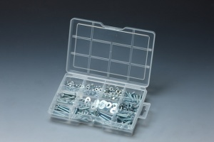 285 PCS MACHINE SCREW, NUT & WASHER ASSORTMENT
