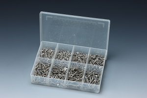 880 PCS STAINLESS A4 TAPPING SCREW ASSORTMENT