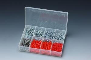 570 PCS METAL SCREW & ANCHOR ASSORTMENT